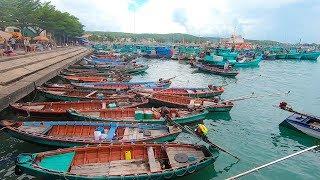 Nhộn nhịp Cảng biển quốc tế An Thới Phú Quốc   phu quoc island