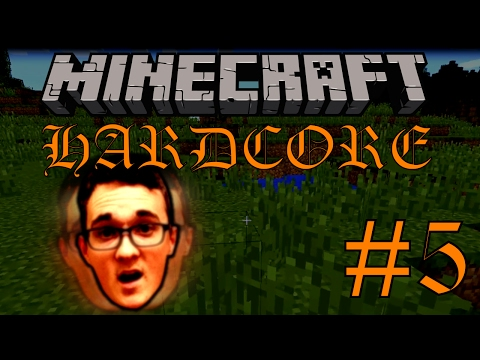 "Minecraft Group Hardcore 2 - Part 5 ""Hayden's Descent"""