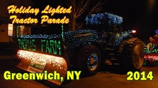 2014 Greenwich Holiday Lighted Tractor Parade