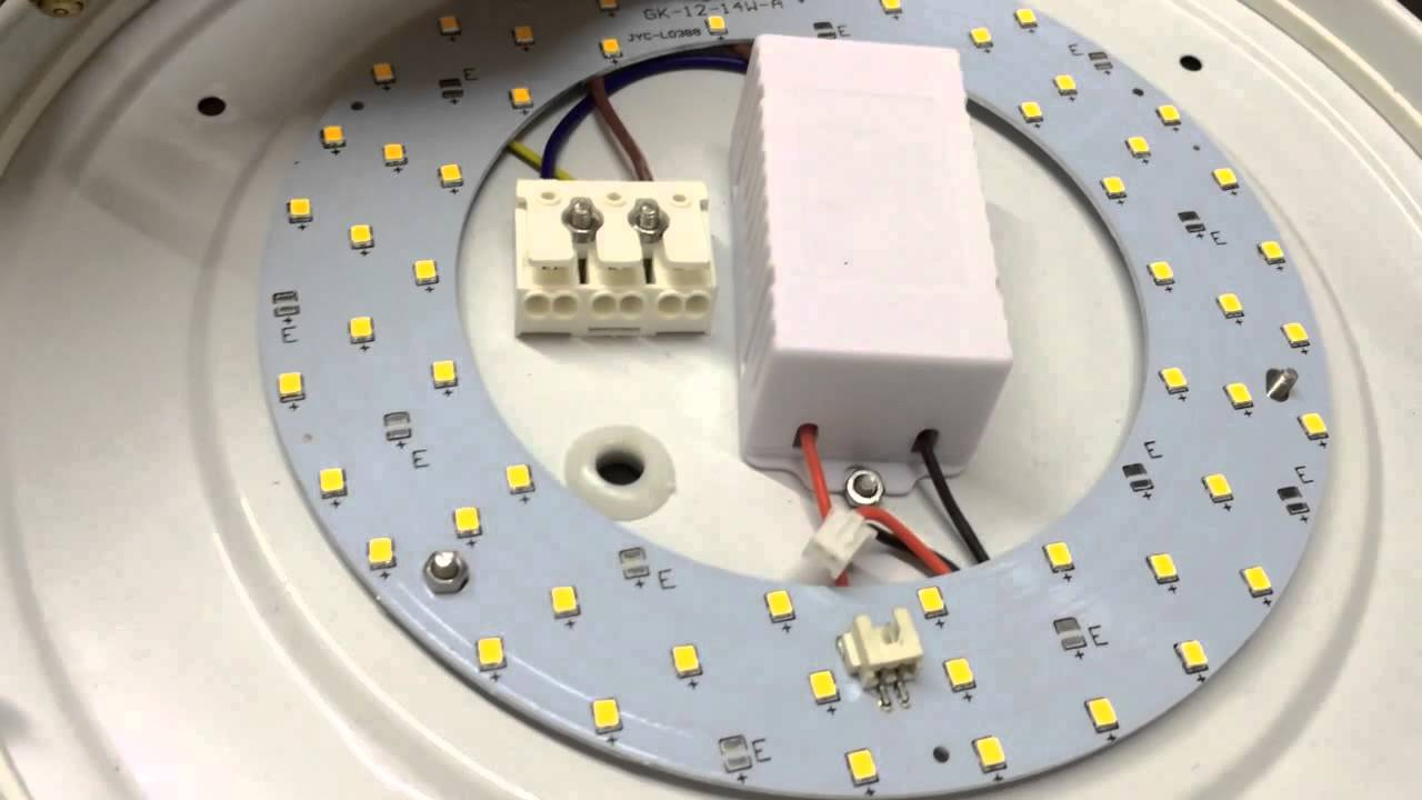 Led Ceiling Light Pcb Board Replacement Youtube
