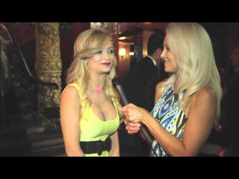 Mindy Robinson Interview at the 2013 Geekie Awards