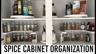 Spice Cabinet Organization | HOME STYLE