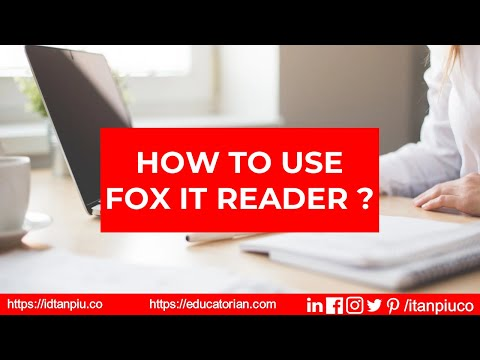 how-to-use-foxit-reader-?