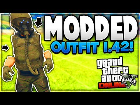 "GTA 5 Online: *SOLO* INVISIBLE ARMS MODDED OUTFIT! ""After Patch 1.42"" (Invisible Glitches GTA 5)"