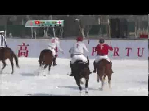 Fortune Heights Snow Polo 2013 - Hong Kong vs England