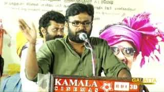 Why Karu Pazhaniappan talks about Buddha at Velmurugan Borewells music launch