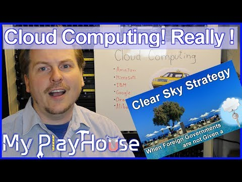 What is Cloud Computing? WTF is Clear Sky Strategy? – 750