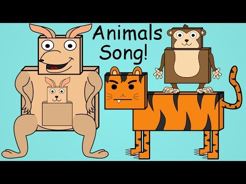 Thumbnail: Animals Song | Fun Animal Song For Kids