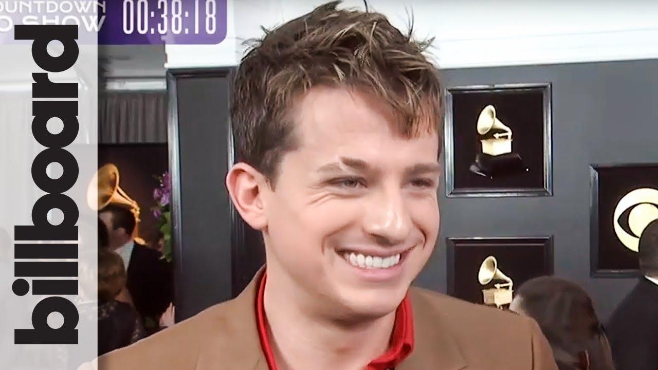 Charlie Puth on Sharing Rare Nomination With David Bowie & Prince for 'Voicenotes' | Grammys