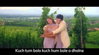 Dholna *HD* (Versión Karaoke) - Dil To Pagal Hai