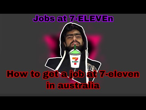 HOW TO GET JOB AT SEVEN ELEVEN IN AUSTRALIA || Real Experience Of Interview At Seven Eleven