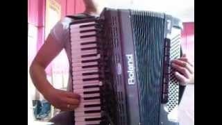 бэтута(Молдавская музыка) на аккордеоне