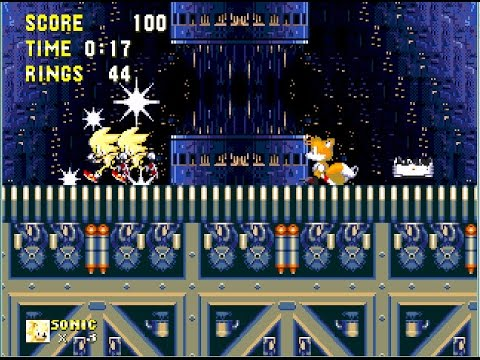 Sonic 3 Advance and Knuckles (hack) Super/Hyper Sonic