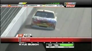NASCAR 2009: Kyle Busch wins Las Vegas coors light Pole
