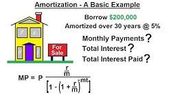 Business Math - Finance Math (17 of 30) Amortization - A Basic Example