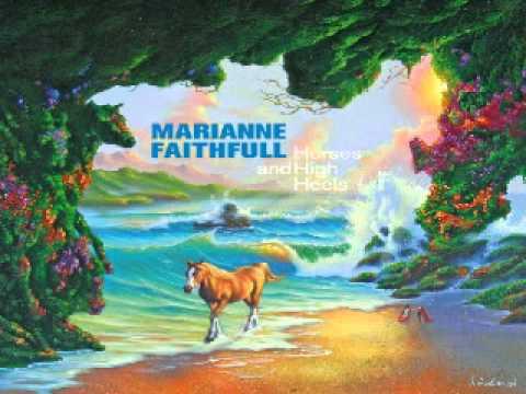 Marianne Faithfull Prussian blue 2011