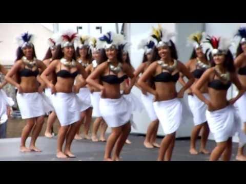 Tahitian Dance Vahines Lokelani Rhythm of the Islands Ho'olaule'a Lawndale 2013