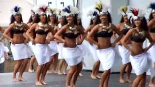 Tahitian Dance Vahines Lokelani Rhythm of the Islands Ho'olaule'a Lawndale 2013