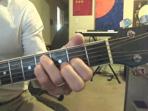 Guitar 1 Lesson 6: F#m open chord tutorial