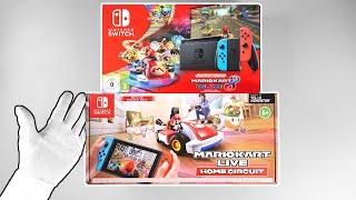 Unboxing MARIO KART Live Home Circuit, Mario Kart 8 Deluxe Nintendo Switch Console