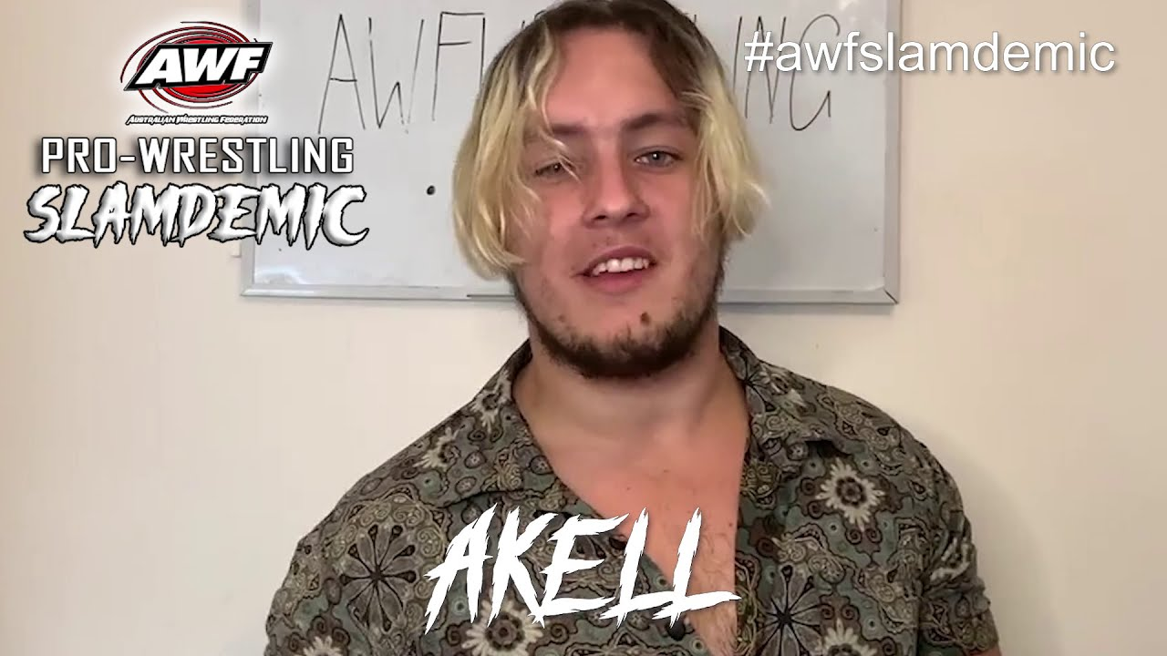 Akell invites all followers to his launch versus Wesley Williams at AWF Pro-Wrestling Slamdemic