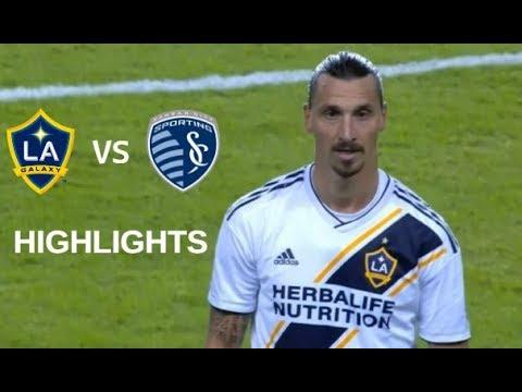 Zlatan Ibrahimovic vs Sporting Kansas City Highlights | LA Galaxy vs Sporting KC 06/10/2018
