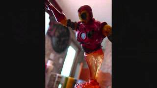 Custom Made Zombie Iron Man Action Figure