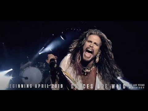 "AEROSMITH announce Las Vegas 2019 residency called ""Aerosmith: Deuces Are Wild"" ..!"