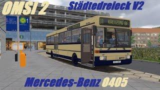 OMSI 2. Städtedreieck V2, Line 31, Mercedes-Benz O405. Part 1