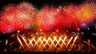 祈りと鎮魂 2011大曲の花火-大会提供花火「奥州曙光」fireworks Requiem tsunami earthquake. thumbnail
