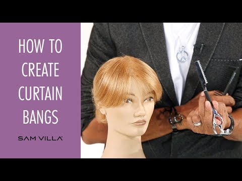 How To Create Curtain Bangs