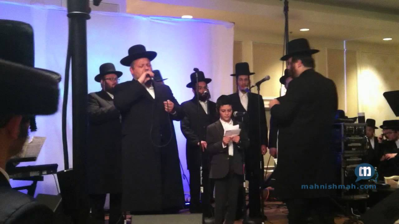 Chazzan Helfgott At RCCS Dinner In Monsey - Zohcreinu Lchaim