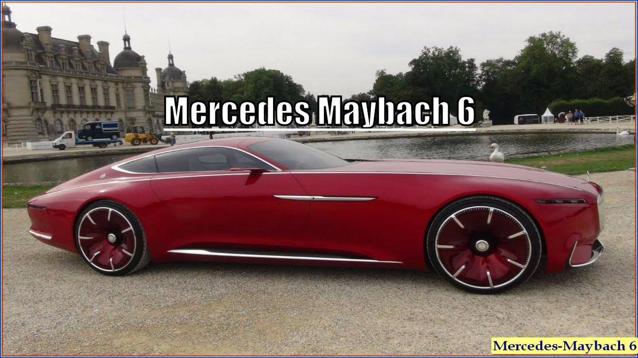 Mercedes Maybach 6 New 2017 Coupe Interior Exterior