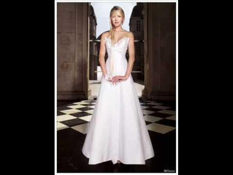 Robes de mariées de Max chaoul - YouTube