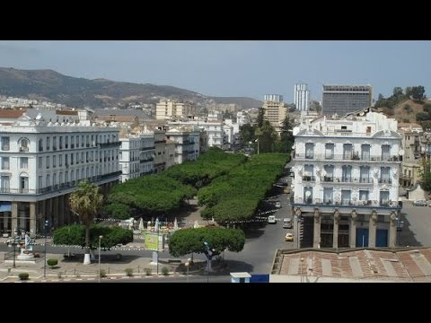 Driving in Annaba | Tahwisa fi Annaba le boulevard Algerie