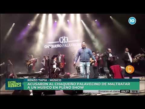 Habló En Canal 10 El Artista Menospreciado Por El Chaqueño Palavecino En Córdoba