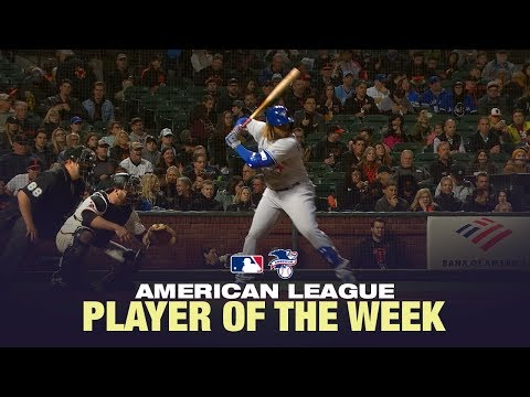 Blue Jays Third Baseman Vladimir Guerrero Jr. earns AL POTW