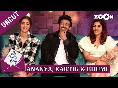 Kartik Aaryan, Ananya Panday and Bhumi Pednekar | By Invite Only | Episode 45 | Pati Patni Aur Woh Mp3