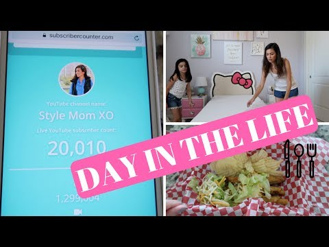 SHORT DAY IN THE LIFE VLOG | STAY AT HOME MOM | FUN FOOD IDEA & NEW MATTRESS