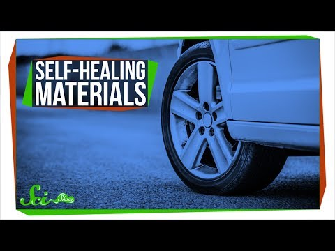 Making Materials That Heal Themselves