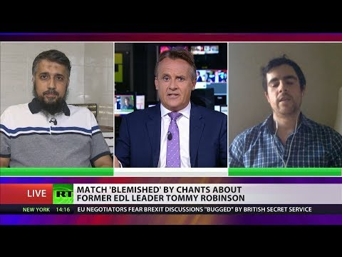 Luton FC fans told to stop Tommy Robinson chants (Debate)