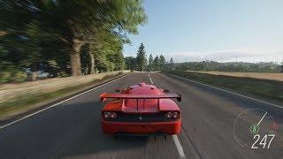 Forza Horizon 4 - 1996 Ferrari F50 GT Gameplay [4K]