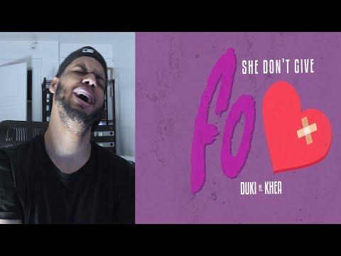 Duki - She Don't Give a FO (ft.Khea)Prod Omar Varela - Duki She Don't Give A FO Reaccion - Reaction