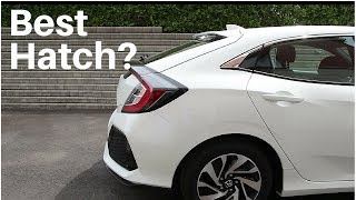 2017 Honda Civic Hatchback Review | Base Model |