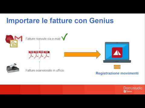 Importare le fatture in contabilità con Genius