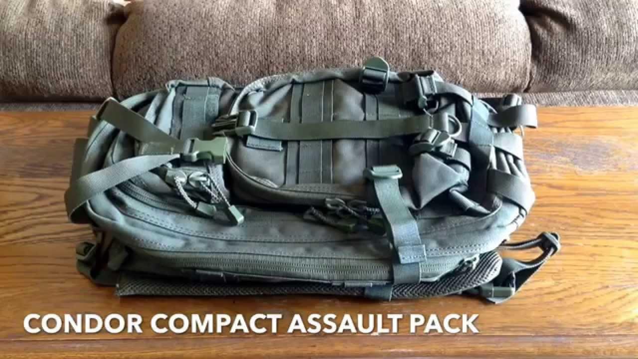 8673206e3f44 My Get Home Bag - Condor Compact Assault Pack sub  40 - YouTube