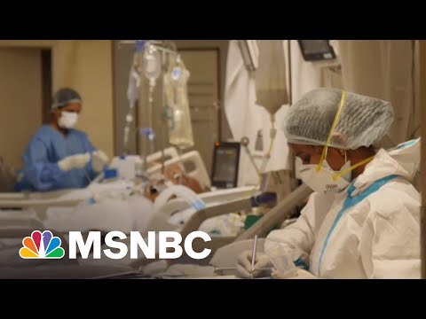 India Frontline Doctor: Covid Crisis 'Like Being Hit By A Massive Earthquake'   MTP Daily   MSNBC
