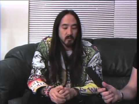 Steve Aoki on The DJ Sessions presented by ITV LIVE 11/20/13