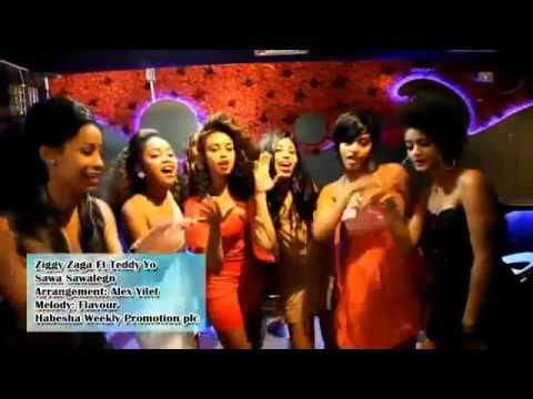 New Ethiopian Music Ziggy Zaga ft.Teddy Yo -Sawa Sewalegn 2012 thumbnail