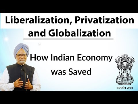 (English) Liberalization, Privatization and Globalization - How Indian economy was saved in 1991 ?